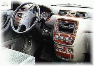 Honda CR-V Wood Dash Kits | CRV Dash Kit | Benevento Dash Trim | Rosewood Dash Trim | Burlwood ...