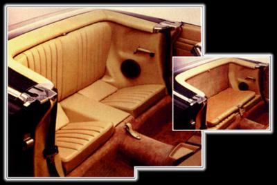 1987 Mercedes 560Sl >> Mercedes Benz SL Rear Jump Seat | Mercedes Rear Jump Seats ...