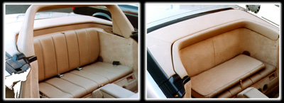 1994 to 1998 Mercedes R129 Body - Bose Rear Seat